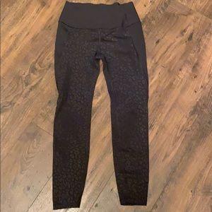 Black Leopard print leggings